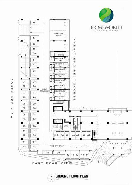 building floor plan ground floor