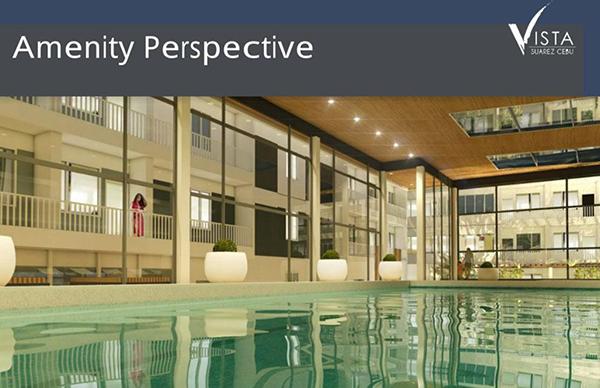 the swimming pool in vista residences cebu