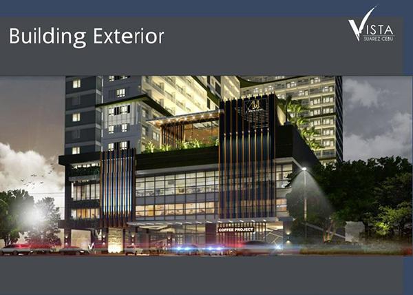 building facade of the condominium