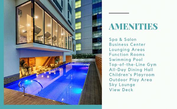 amenities in vista suarez residences