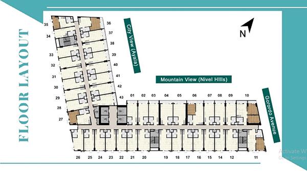 building floor plan of suarez residences cebu
