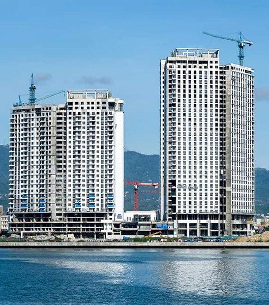 mandani bay waterfront development