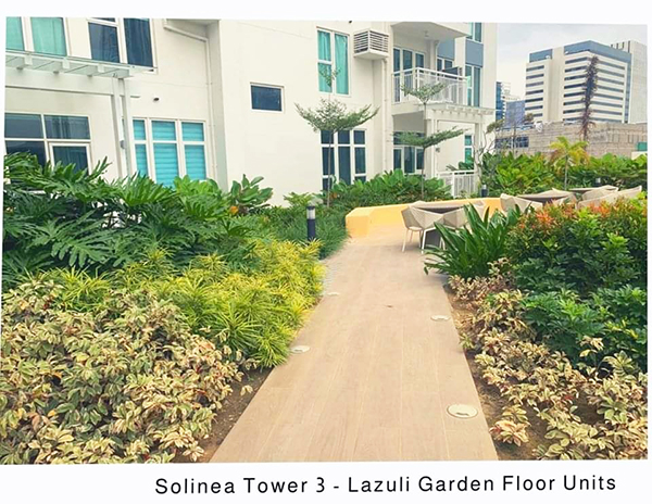 solinea garden floor units