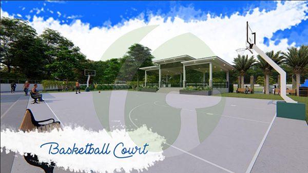 basketball court in lapu lapu subdivision