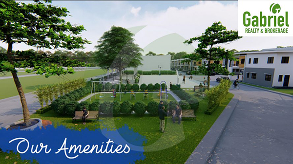amenities include parks and playground
