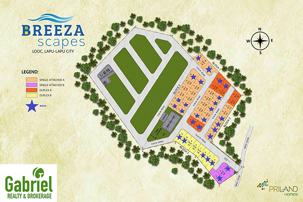 breeza scapes subdivision master plan