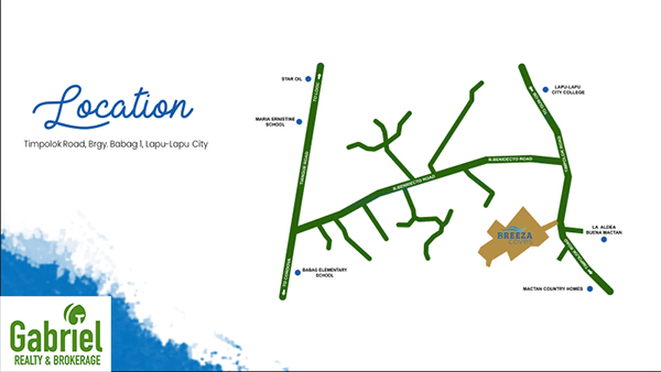 location of breeza coves in mactan