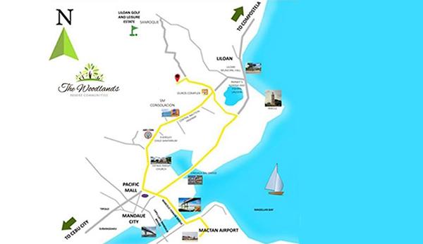 vicinity map of liloan condominium