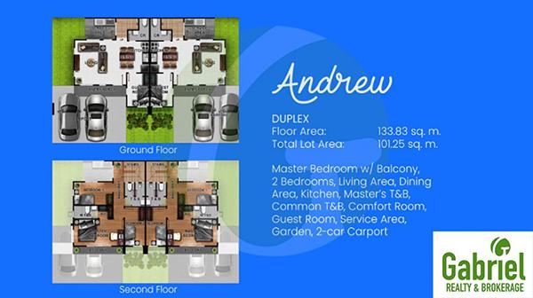 andrew duplex floor plan