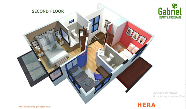 hera model unit floor plan