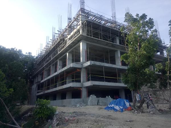 construction update in one tectona liloan