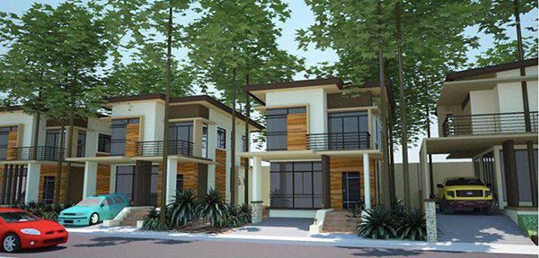 single detached villas in one tectona