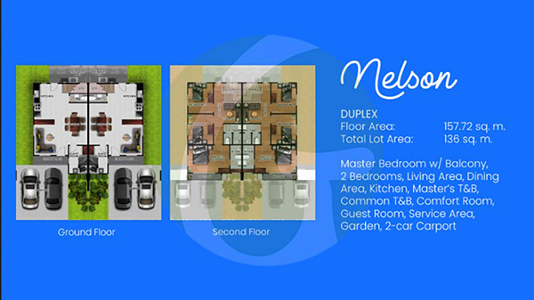 nelson duplex house floor plan