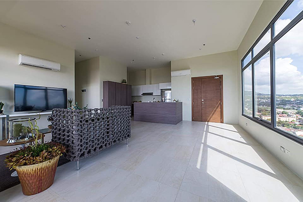 fully furnished penthouse in cebu