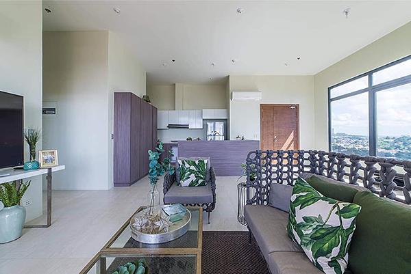 sala set of the penthouse