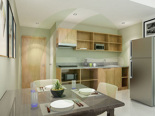 deliverable unit includes kitchen cabinets