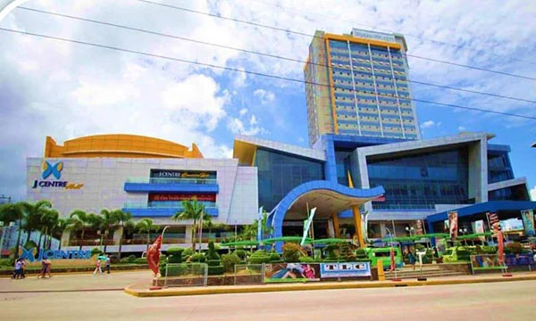 the location in J Centre Mall in Mandaue city
