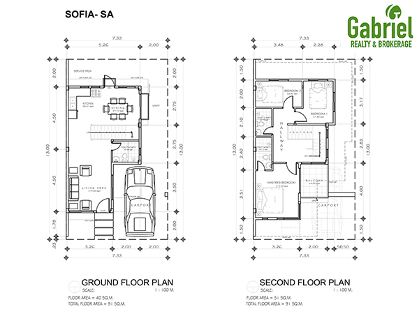 sofia houses floor plan