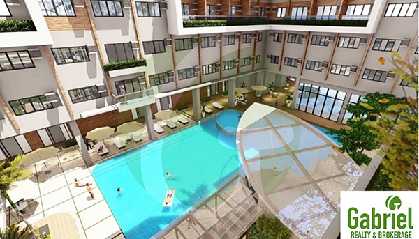 amenities that include swimming pool, gym, and club house
