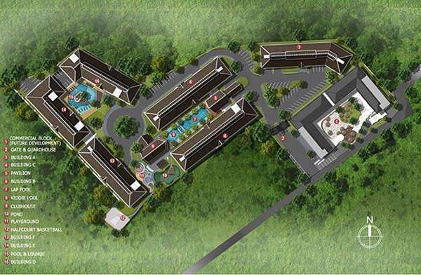 project development plan or master plan of the resort condominium
