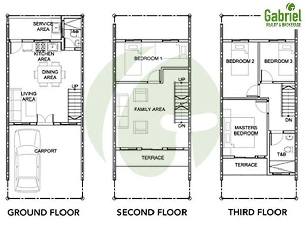 harper model floor plan
