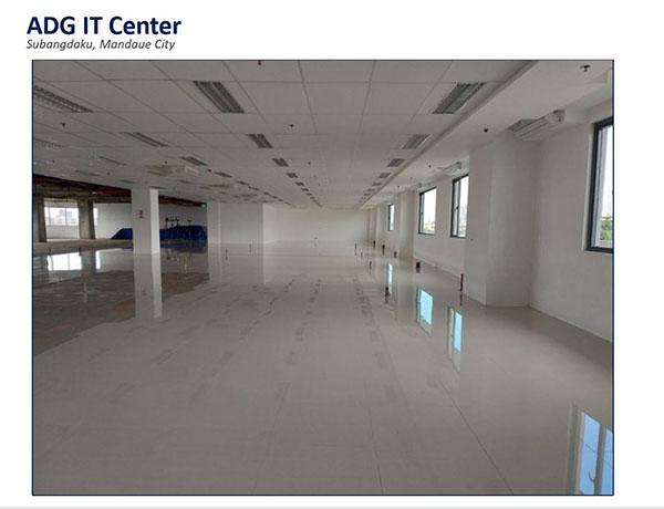 warm shell office for rent in mandaue city, cebu