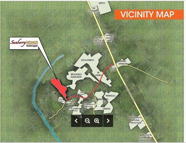 vicinity map of lapu lapu subdivision