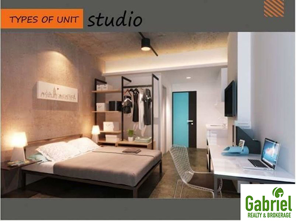 studio unit floor layout