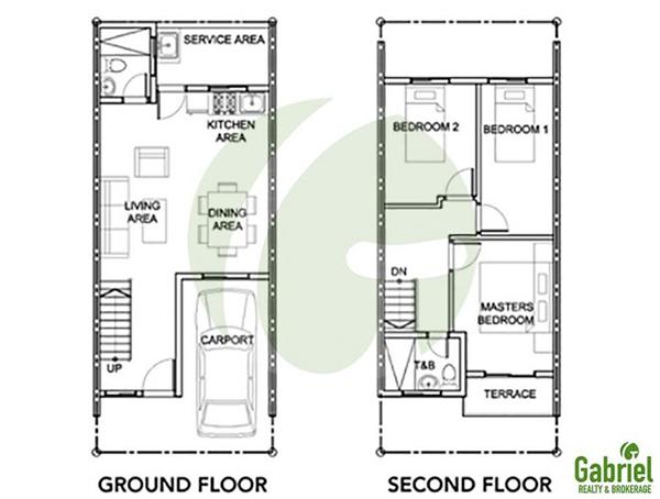 tatina model floor plan