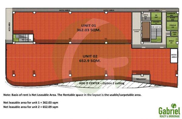 floor plan of ADG IT CENTER mandaue city, cebu