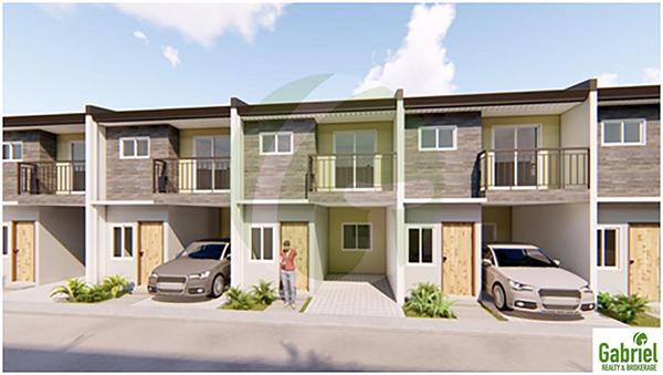 tatina model 2-storey townhouse