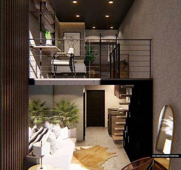 bloq residences sikatuna loft unit