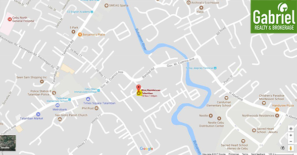 vicinity map of bloq talamban
