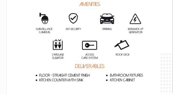 bloq residences amenities