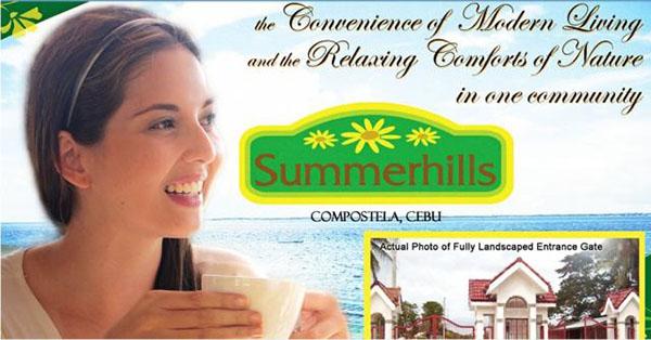 summer hills subdivision in compostela