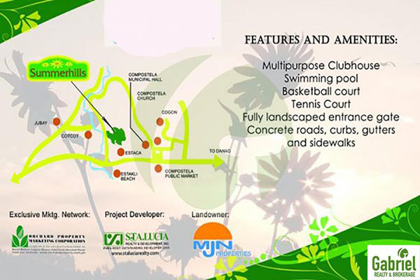 subdivision features and amenities