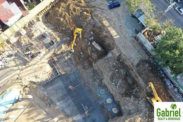 latest land development in the condominium project