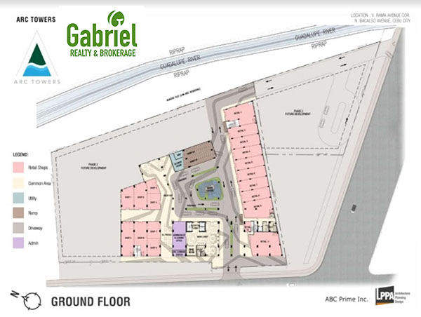 building floor plan at the ground floor