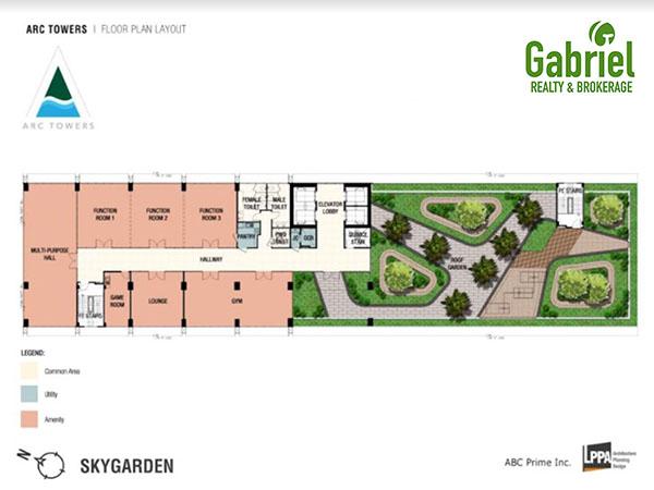 sky garden floor plan