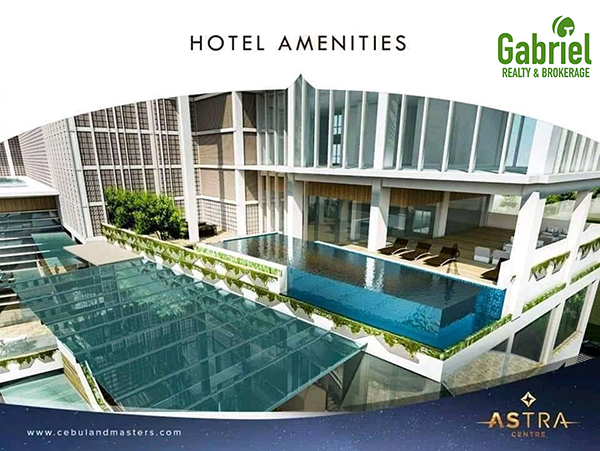 hotel amenities of the condominium project