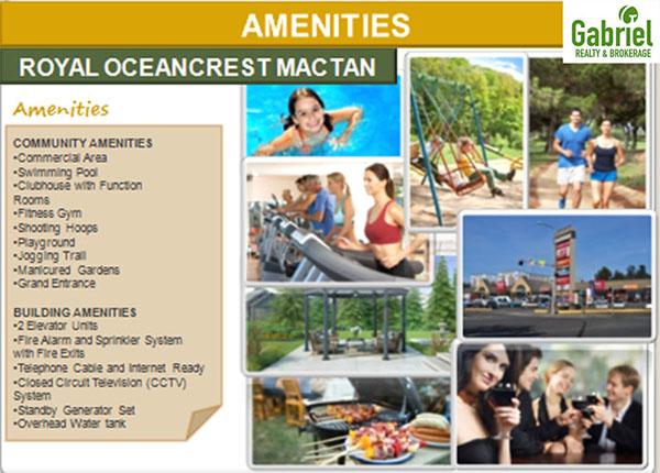 the amenities in royal oceancrest mactan