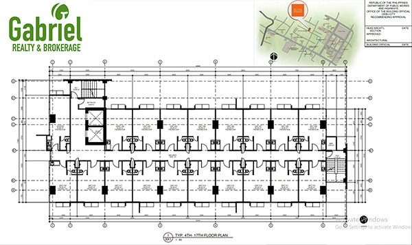 Bloq Residences Lahug Building Floor Plan