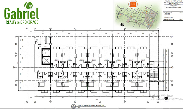 floor plan of bloq residences lahug