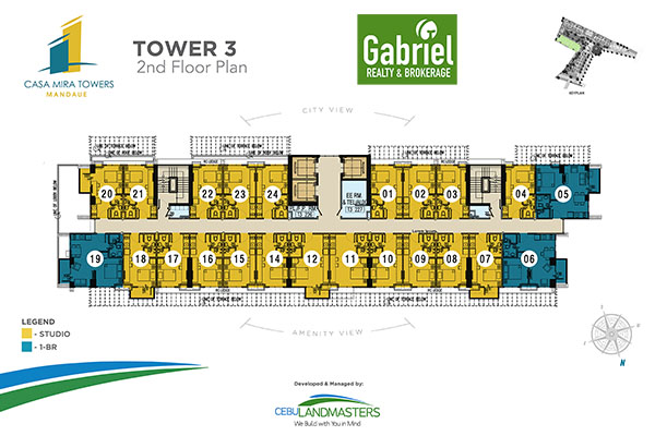 tower 3 building floor plan