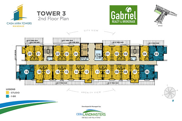 tower 4 building floor plan