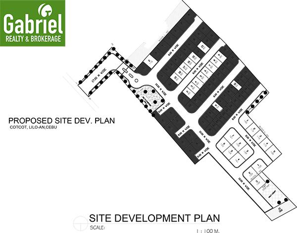 site development plan of citadel estate