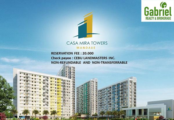 the buildings in casa mira towers mandaue