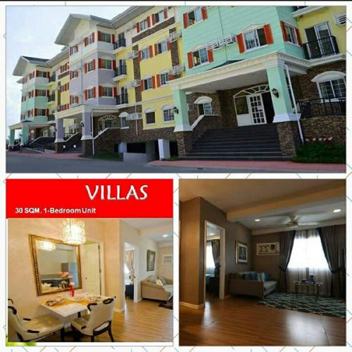 villas, 1 bedroom 30 sqm condominium unit