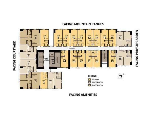 typical building floor plan