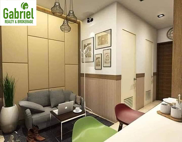 1 bedroom residential condominium floor lay out